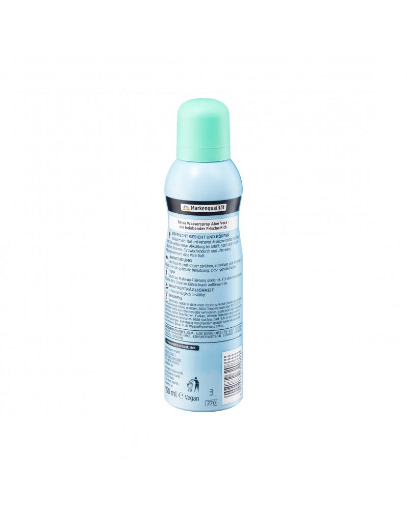 Wasserspray Aloe Vera Спрей для лица и тела с экстрактом алоэ вера, 150 мл