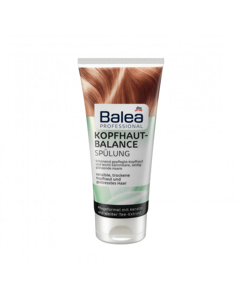 Spülung Kopfhaut Balance Кондиционер для сухих и поврежденных волос и чувствительной кожи головы, с кератином и экстрактом зеленого чая, 200 мл