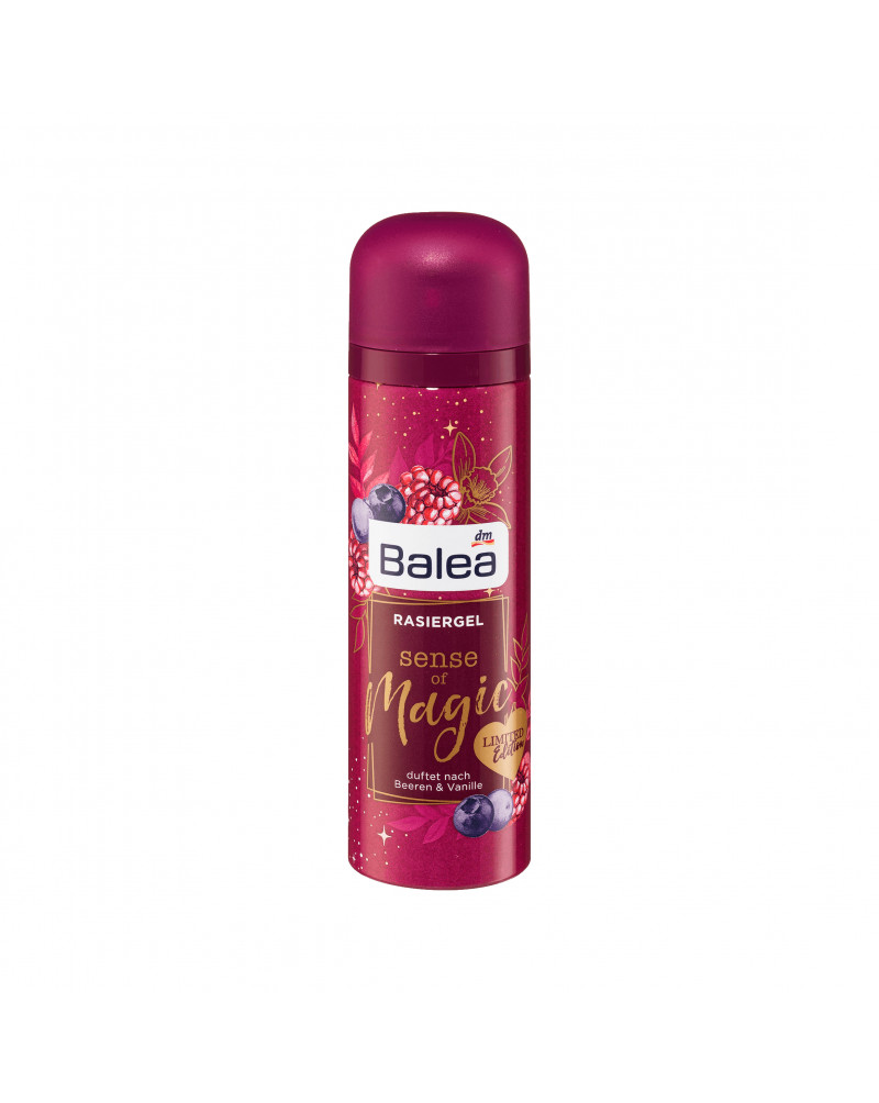 Rasiergel Sense of Magic  Гель для бритья для чувствительной кожи с экстрактом алоэ вера, 150 мл