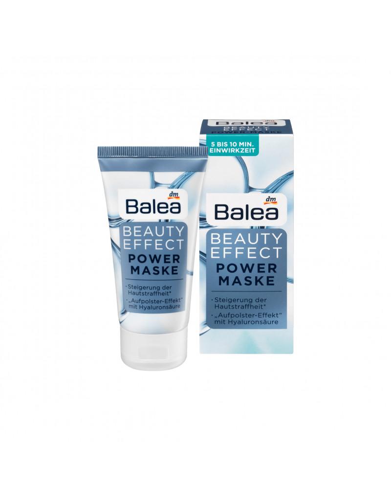 Beauty Effect Power Maske Маска для лица против следов усталости кожи с гиалуроновой кислотой, маслом Ши и витамином Е, 50 мл