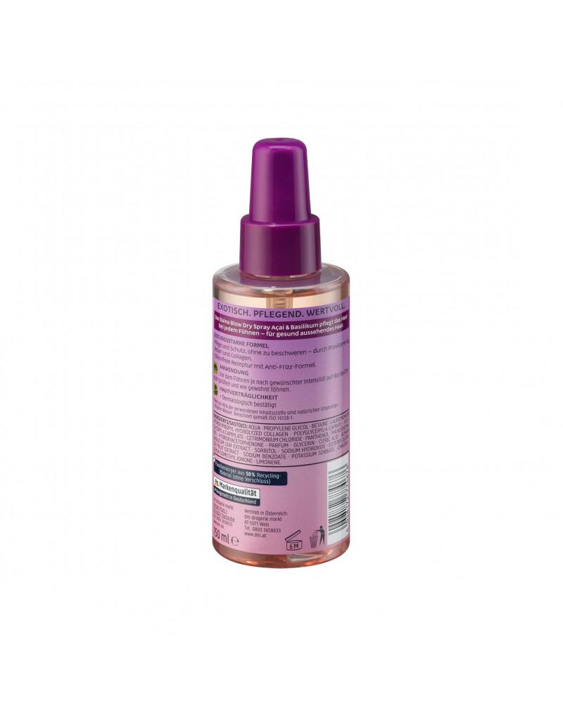 Blow Dry Spray Acai & Basilikum Термозащитный спрей для волос с экстрактом асаи и базилика, 150 мл.