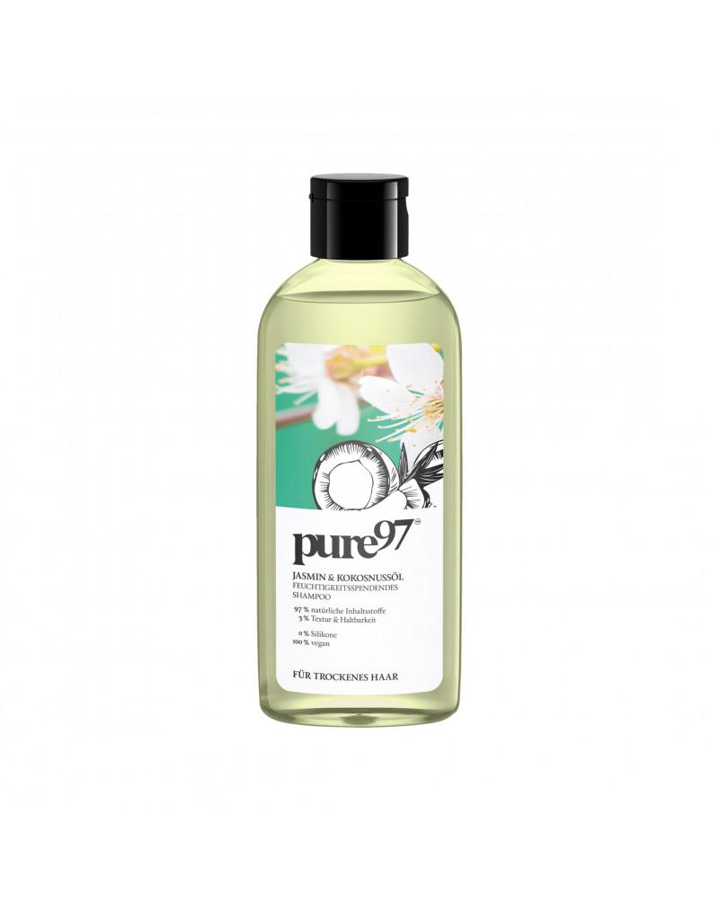Shampoo Jasmin & Kokosnussöl Шампунь для сухих и поврежденных волос с жасмином и кокосовым маслом, 250 мл