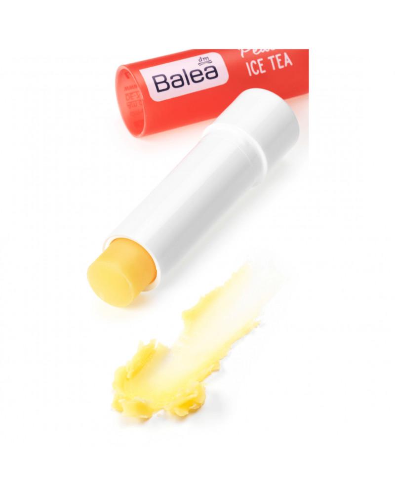 Lippenpflege Peach Ice Tea Бальзам для губ с маслом Ши и жожоба, 4,8 гр