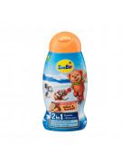 Dusche + Shampoo 2in1 Гель-шампунь c Провитамином В5, с ароматом какао и карамели, 250 мл