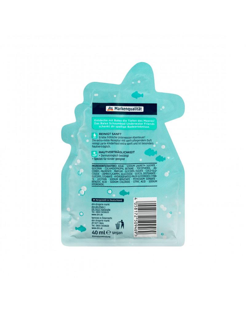 Kids Schaumbad Underwater Friends Пена для ванны с морским ароматом, 40 мл