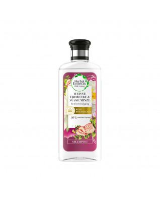 Shampoo Tiefenreinigung Weiße Erdbeere & Süße Minze Шампунь для глубокого очищения волос, с экстрактом белой клубники, жасмина и сладкой мяты, 250 мл