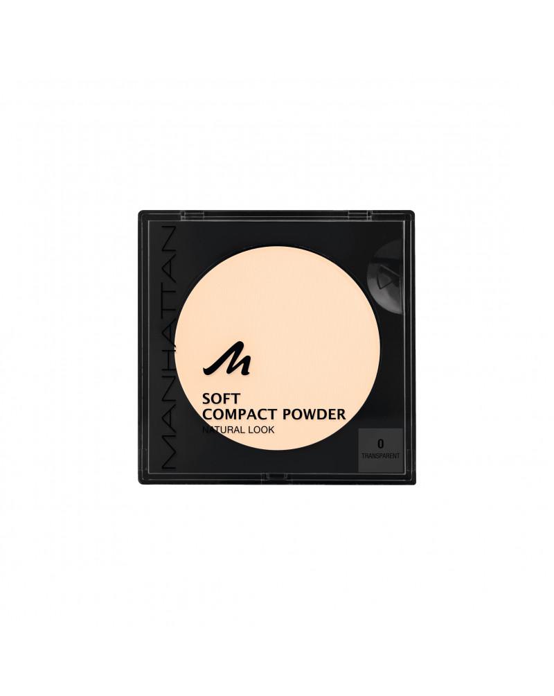 Gesichtspuder Soft Compact Powder Transparent 00 Мягкая матирующая компактная пудра для лица (Transparent 00), 9 г