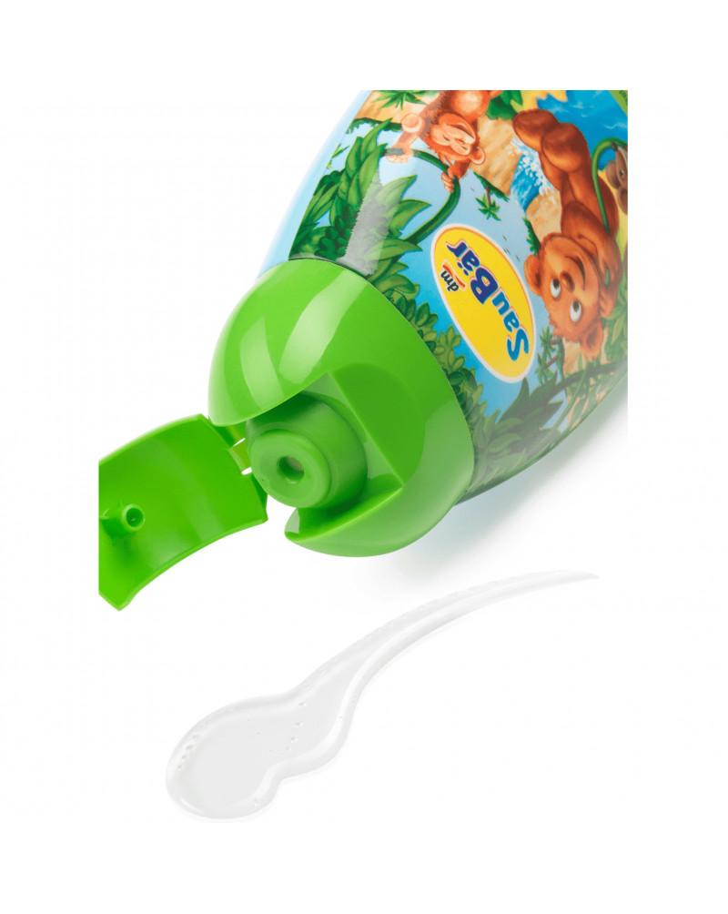 Dusche + Shampoo 2in1 für Kinder  Гель - шампунь 2в1 с Провитамином B5, с ароматом ананаса и грейпфрута, 250 мл