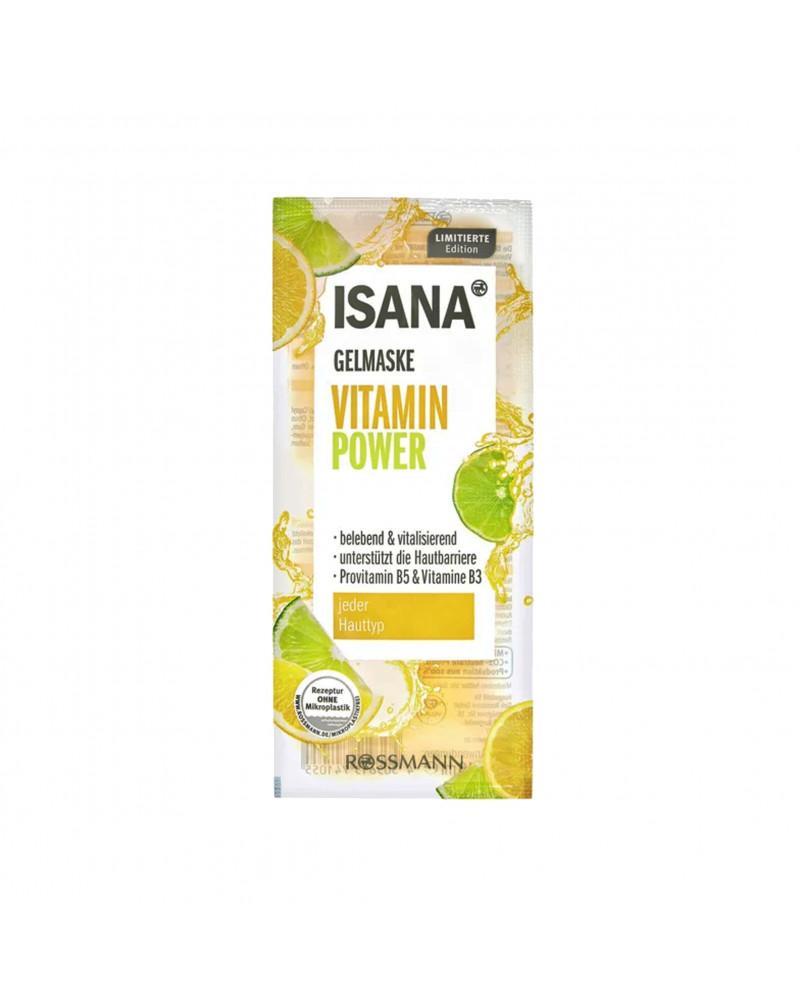 Gelmaske Vitamin Power Маска для лица с экстрактом цветов апельсина и соком лайма, 2 x 8 мл