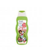 "Kids Shower & Shampoo 2in1 Coole Kicker Шампунь и гель для душа 2В1 ""Крутой кикер"", с ароматом арбуза, 200 мл"