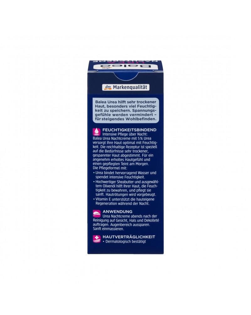 Nachtcreme Urea Крем ночной успокаивающий для лица с Urea 5%, 50 мл