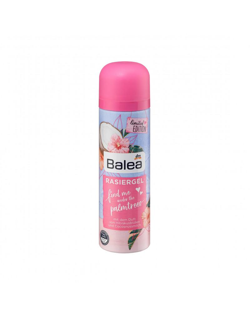 Rasiergel find me under the palmtrees Гель для бритья с ароматом цветов гибискуса и кокосового молока, 150 мл.