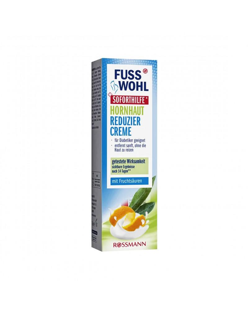 Hornhaut Reduziercreme Крем для уменьшения образования роговицы с маслом жожоба, маслом апельсина, эвкалипта, сосны, туи, подсолнуха, 75 мл