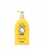 Kids Dusche & Shampoo 2in1 Banane Гель для душа и шампунь для детей с экстрактом оливы и молочным протеином, 400 мл