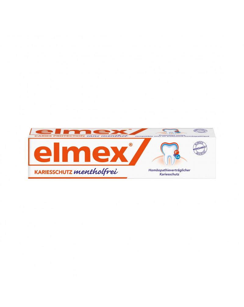 Zahnpasta Kariesschutz mentholfrei Зубная паста с фторидом амина для защиты от кариеса без ментола, 75 мл.