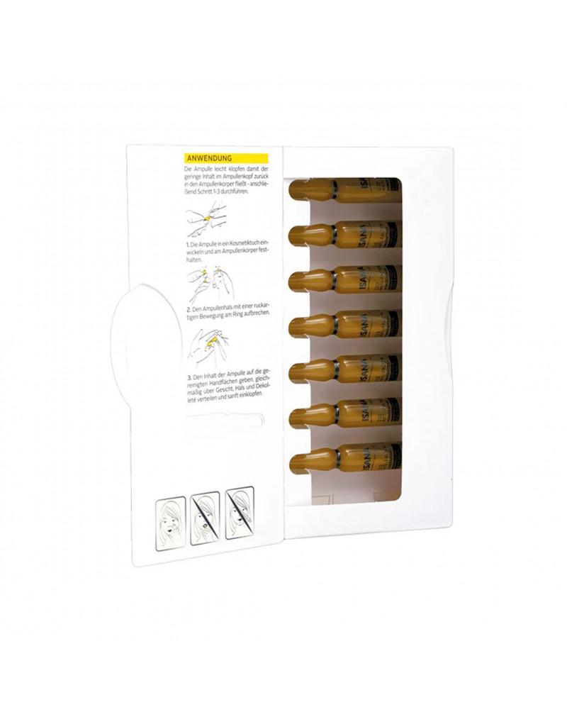 Q10 Anti-Falten Konzentrat Сыворотка-концентрат для лица с коэнзимом Q10, экстрактом хлореллы, экстрактом ягод асаи, маслом оливы, 7 шт.