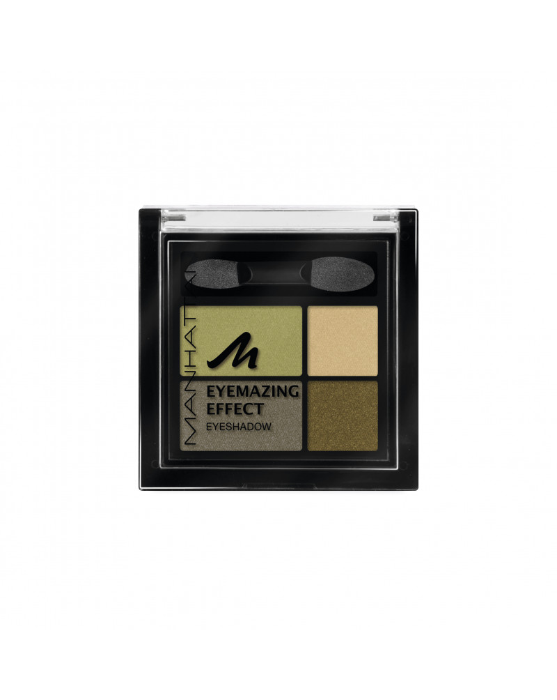 Lidschatten Eyemazing Effect Eyeshadow Green Piece 89D Тени для век, 5 г