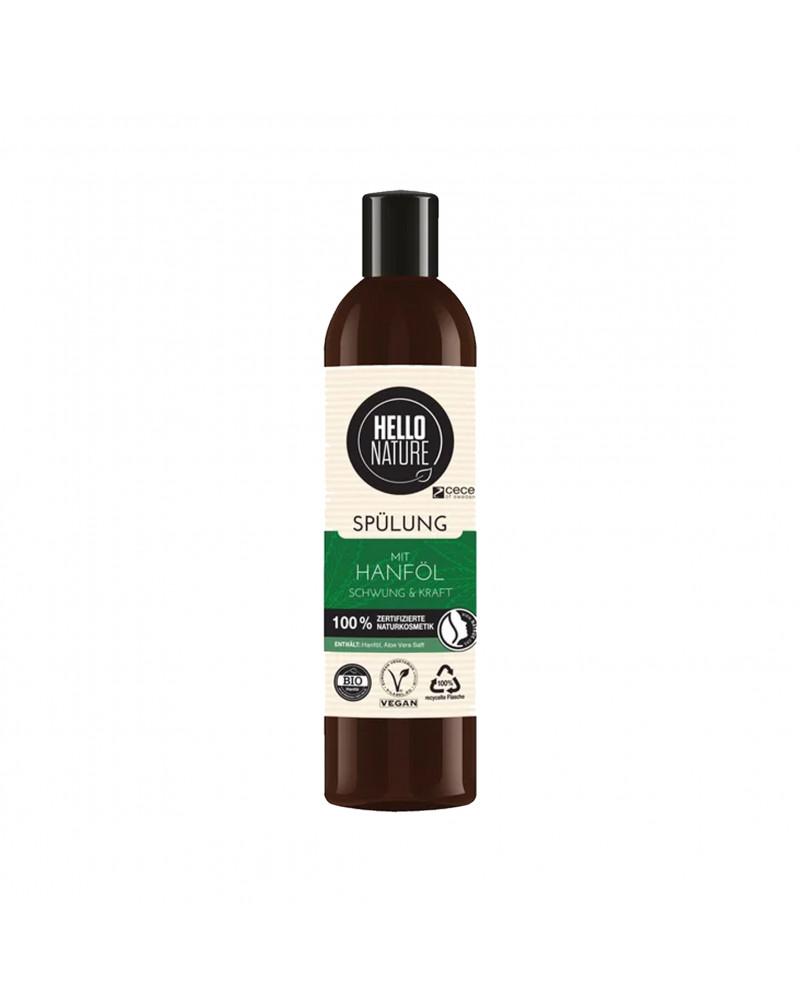 Hanföl Spülung Schwung & Kraft Укрепляющий и восстанавливающий кондиционер для волос, с конопляным маслом, 300 мл