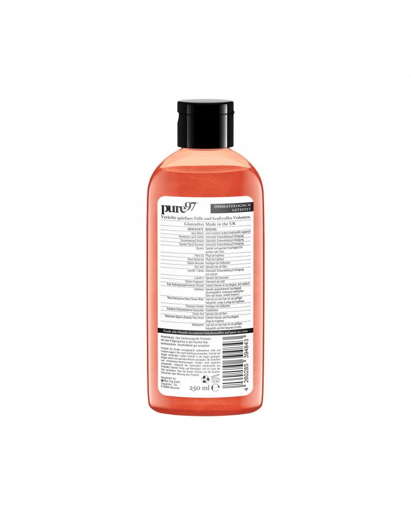 Shampoo Volumen Wildrose&Baobab Шампунь для сухих и тонких волос с экстрактом шиповника и ваобаба, 250 мл