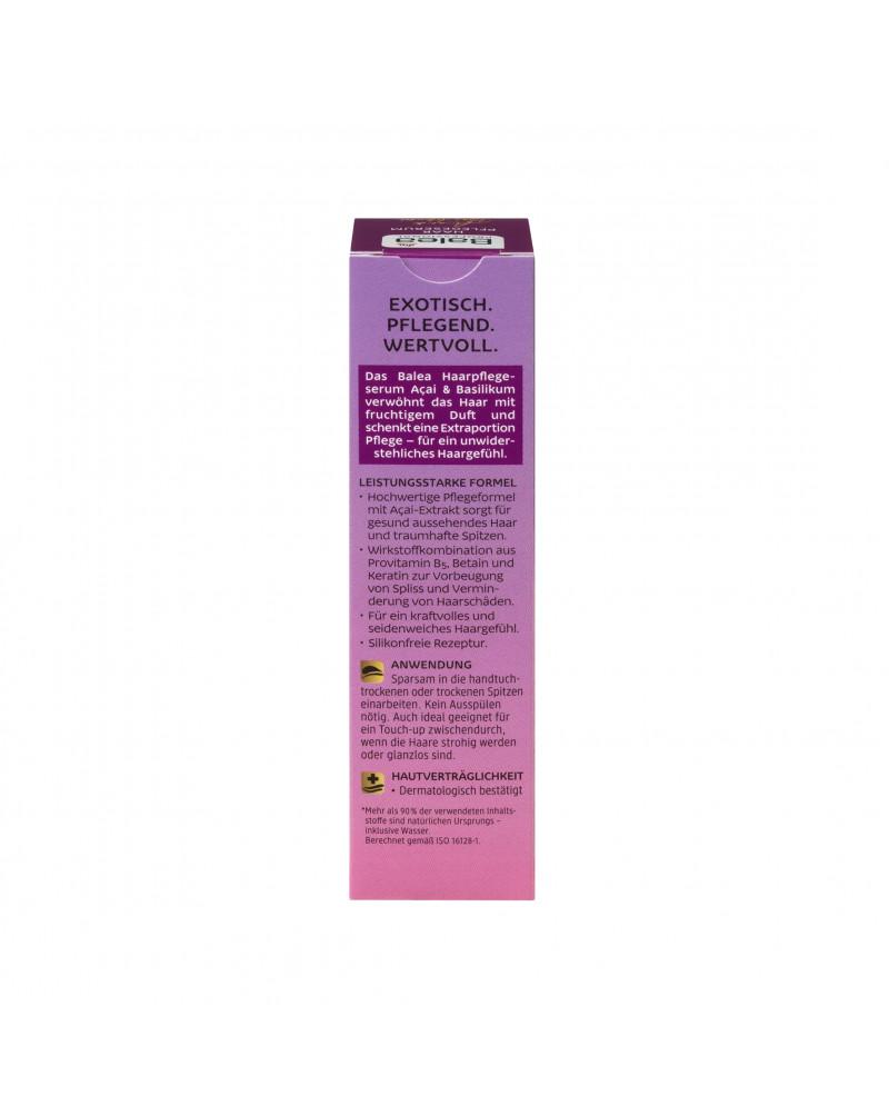 Haarpflegeserum Acai & Basilikum Сыворотка для ухода за волосами с асаи и базиликом, 30 мл.