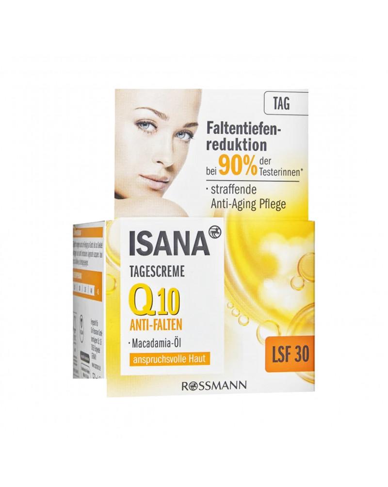 Q10 Anti-Falten Tagescreme LSF 30 Дневной крем для лица против морщин с коэнзимом Q10 и маслом макадамии и экстрактом хлореллы, 50 мл