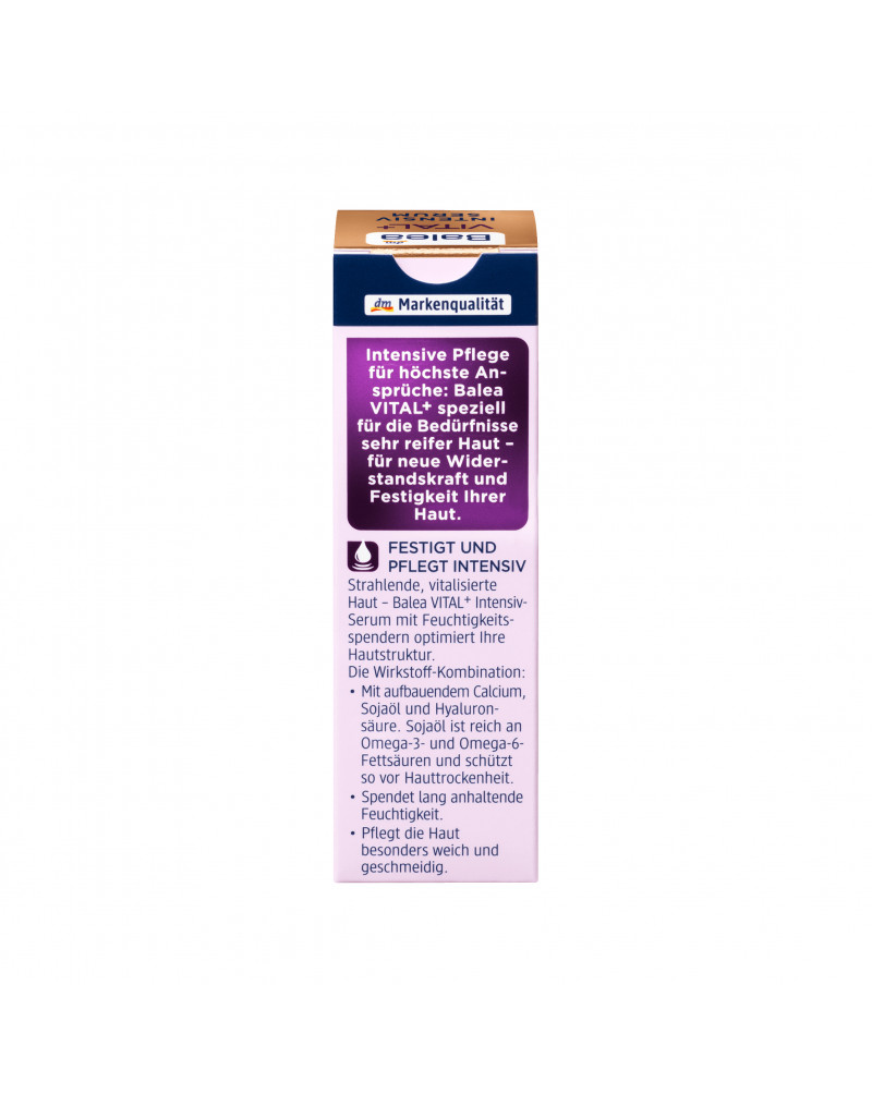 Serum VITAL+ Intensiv  Дневная сыворотка-лифтинг для лица с омега-3 и омега-6 кислотами, 30 мл