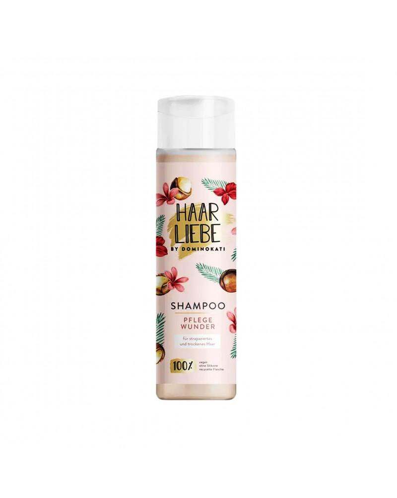 Shampoo Pflegewunder Шампунь для сухих и поврежденных волос с маслом макадамии, экстрактом франжипани и растительным белком, 250 мл