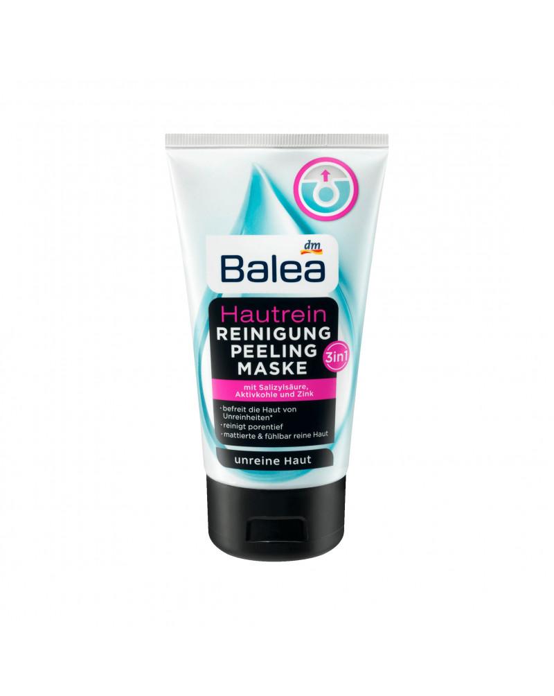 Reinigung Peeling Maske Hautrein 3in1 Крем для умывания против несовершенств кожи, с салициловой кислотой, активированным углем и цинком, 150 мл