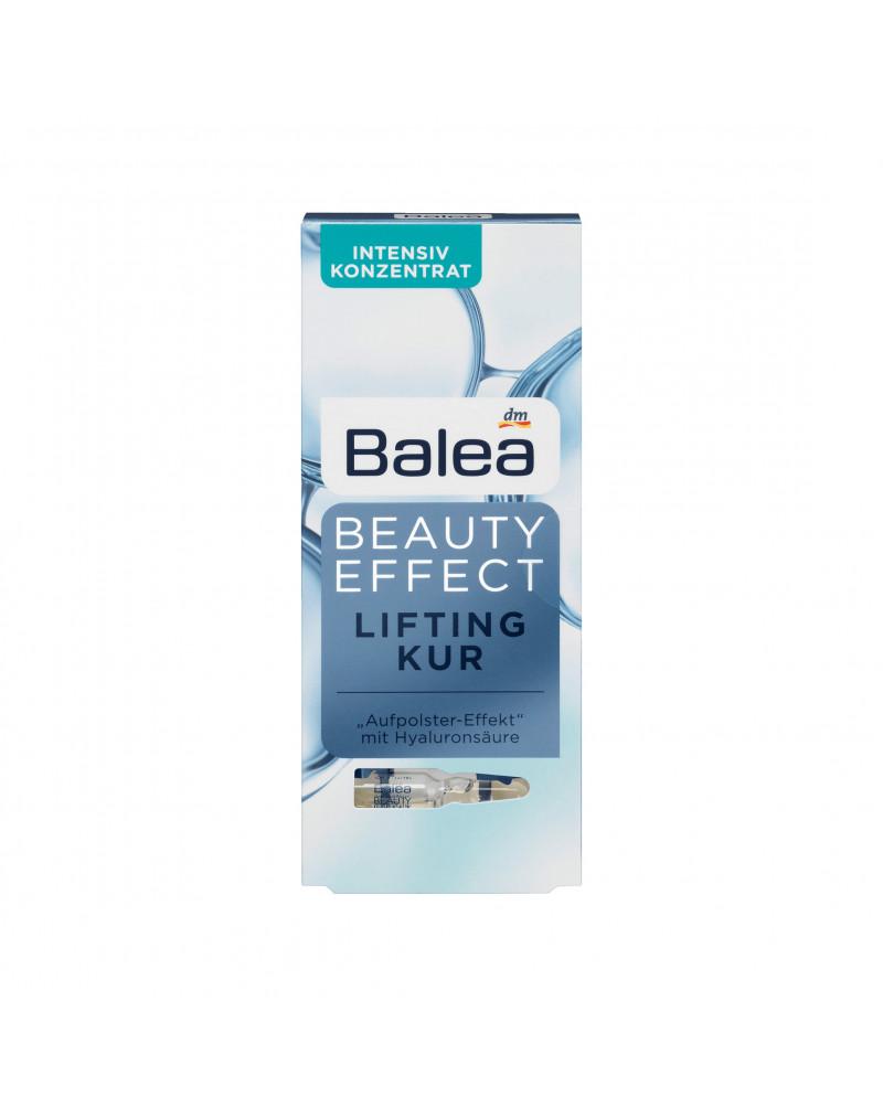 Ampullen Beauty Effect Lifting Kur Сыворотка с гиалуроновой кислотой и экстрактом корня ириса флорентина, 7 шт