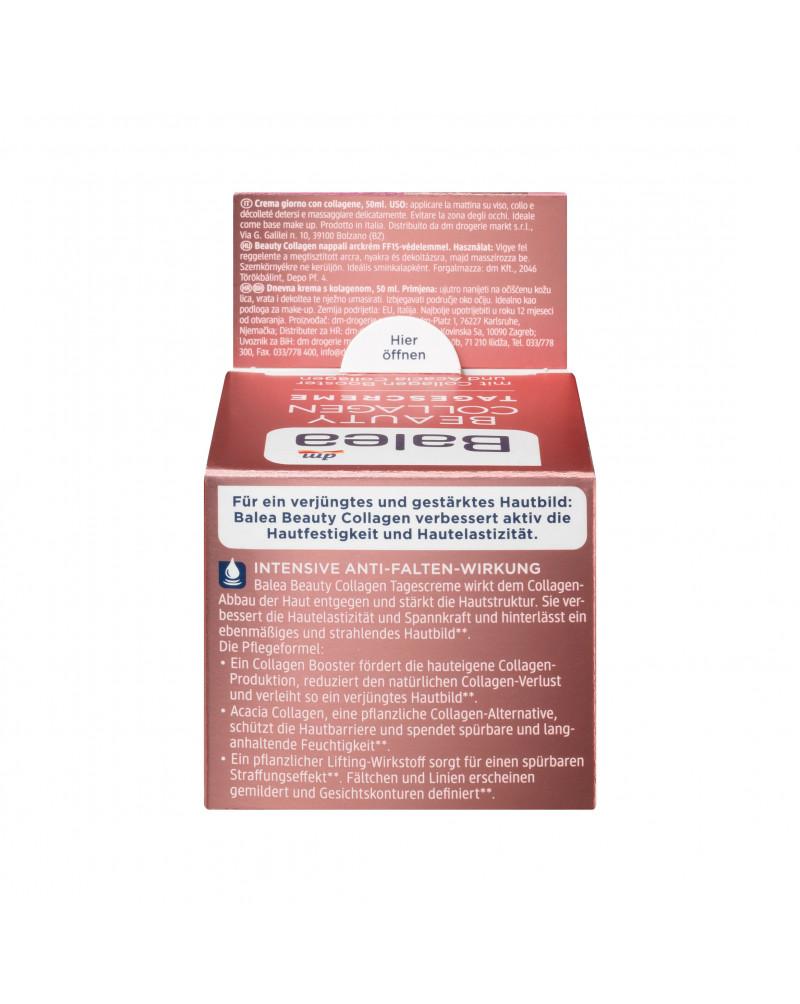 Beauty Collagen Tagescreme mit Collagen-Booster und Acacia Collagen Дневной крем-лифтинг для лица с коллагеном акации, с экстрактом листьев циатеи южной, 50 мл