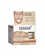 ISANA Zucker-Peeling Сахарный пилинг, для сияющего и ровного цвета лица, с маслом какао ,50 мл