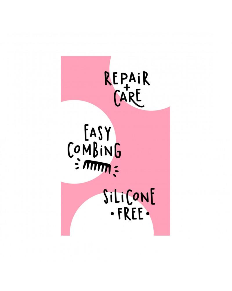 Haarkur Repair Spray Pink Lemonade Восстанавливающий спрей с бамбуком и экстрактом ягод годжи, 150 мл