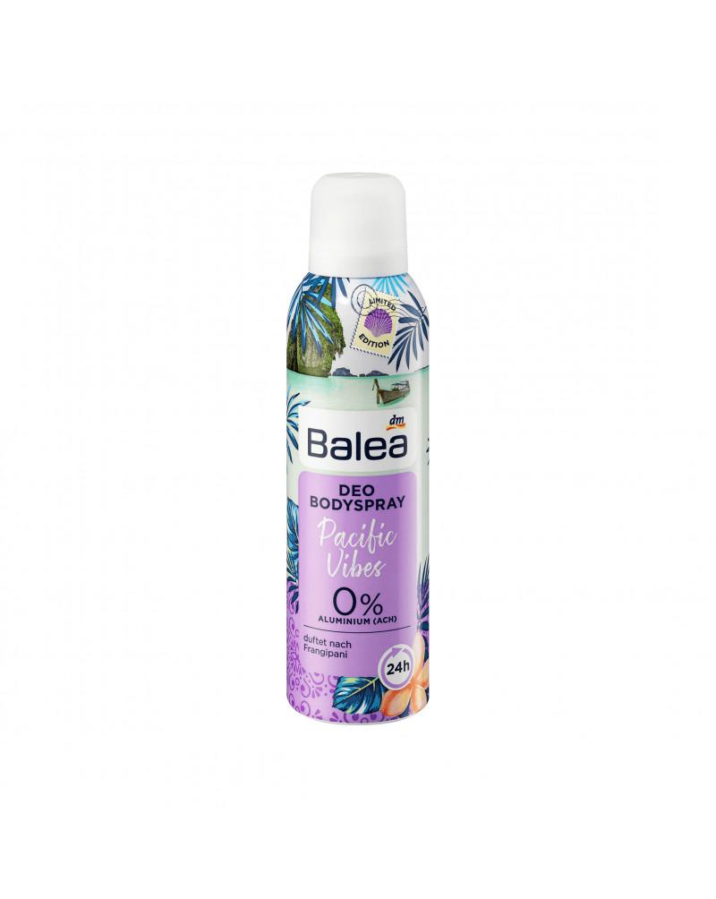 Deo Spray Pacific Vibes Дезодорант с ароматом франжипани, 200 мл