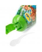Kids Dusche + Shampoo 2in1 Гель- шампунь 2в1, с ароматом ананаса и грейпфрута, 250 мл