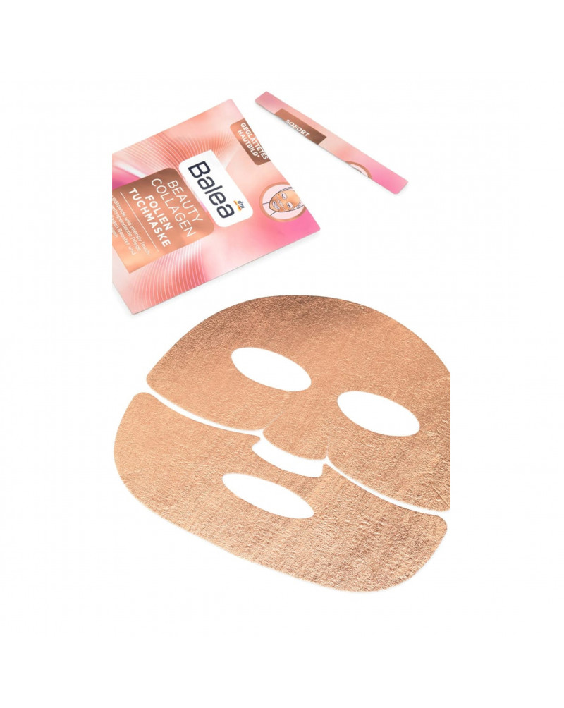 Beauty Collagen Folien Tuchmaske mit Collagen Booster Тканевая маска для лица с коллагеном, 1 шт.