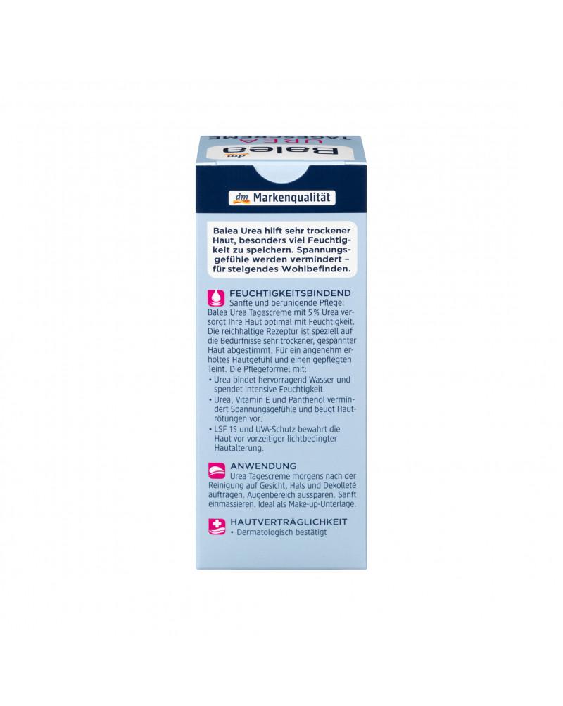 Tagescreme Urea Дневной успокаивающий крем с мочевиной 5% для сухой кожи, 50 мл