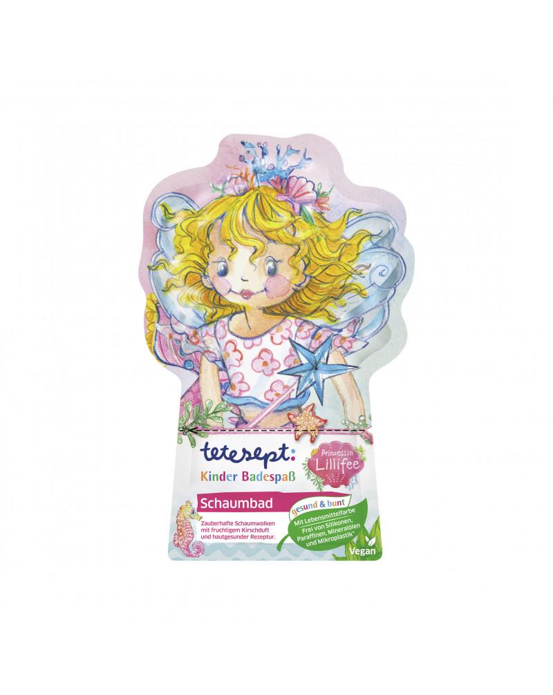 Schaumbad Prinzessin Lillifee Средство для купания с миндальными протеинами и ароматом вишни, 40 мл