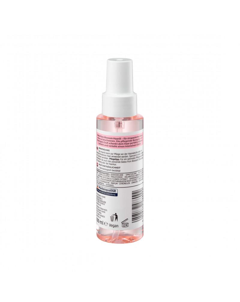 Haaröl Pure Blossom Масло для волос с экстрактом цветков пиона, маслом жожоба, экстрактом корня воробейника краснокорневого,100 мл