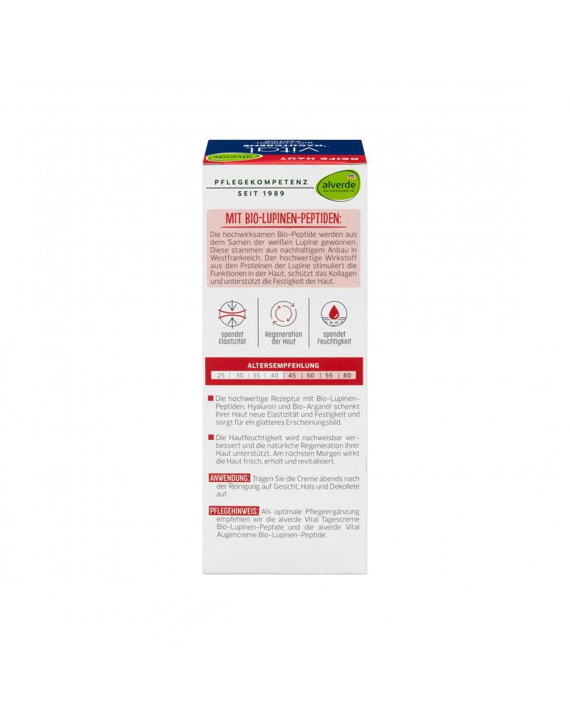 Nachtcreme Vital Bio-Lupinen-Peptide Ночной крем с органическими пептидами люпина, 50 мл.