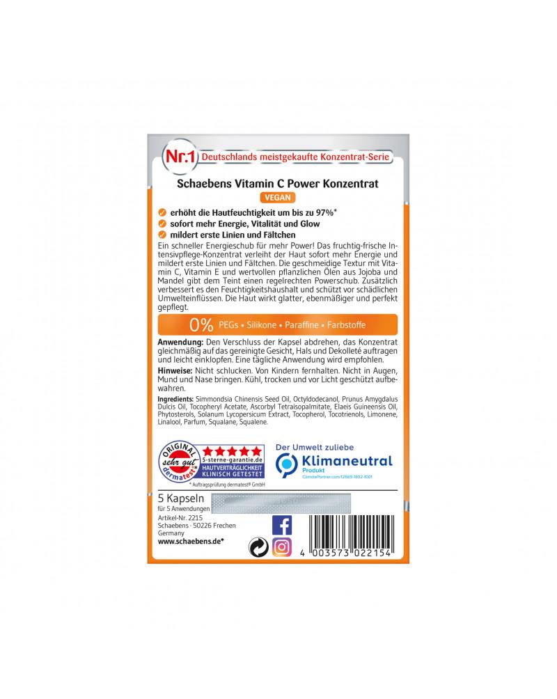 Vitamin C Konzentrat Концентрат для лица с витамином С, маслом жожоба и с экстрактом томатов, 5 шт.