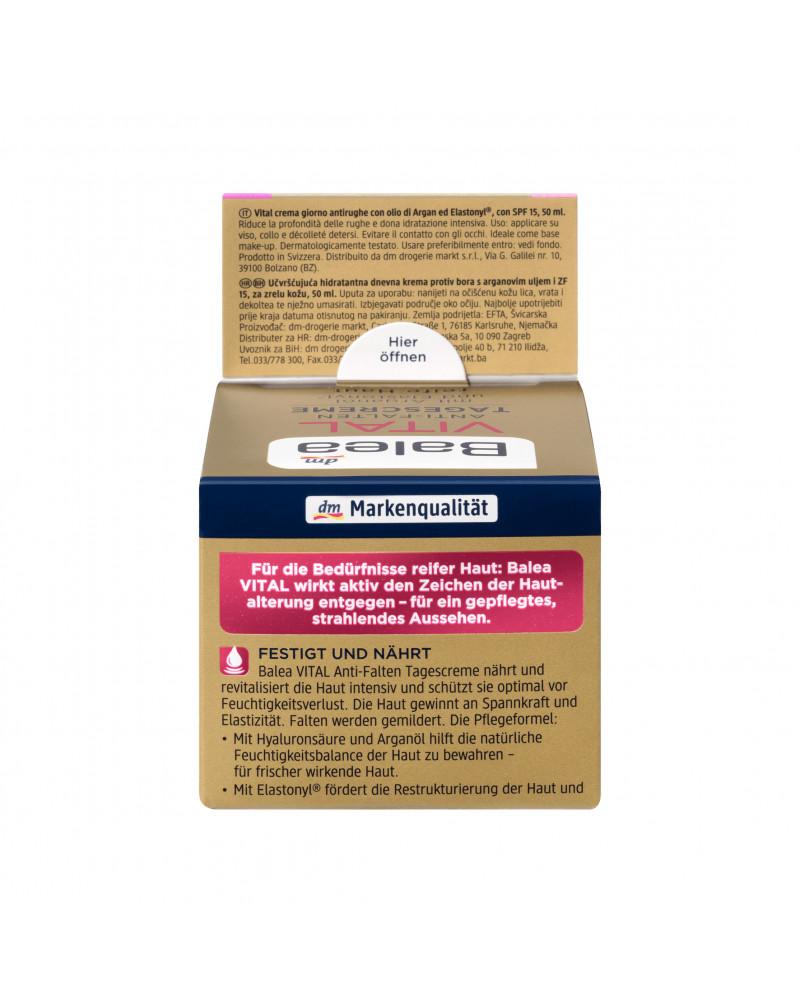 VITAL Anti-Falten Tagespflege Дневной активизирующий крем для лица для зрелой кожи 50 мл