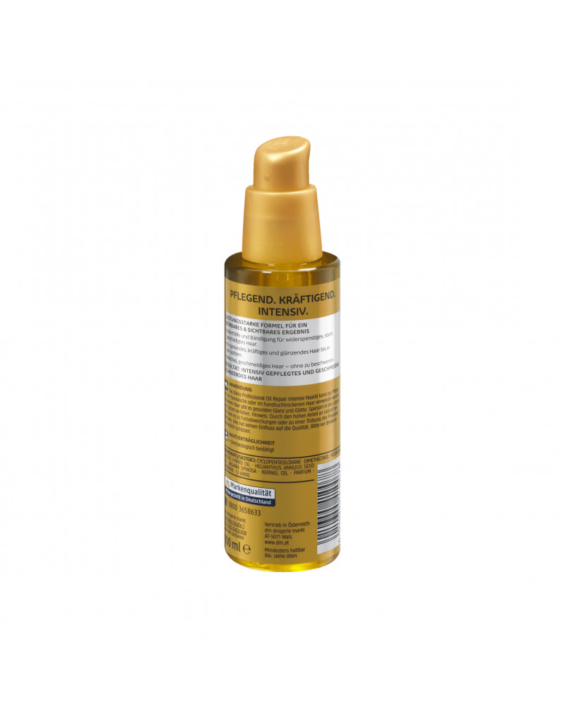 Haaröl Oil Repair Intensiv Восстанавливающее масло для сухих и поврежденных волос, 100 мл
