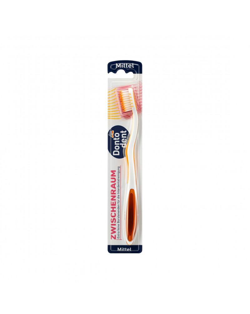 Zahnbürste Zwischenraum mittel Зубная щетка для чистки труднодоступных межзубных пространств, средней жесткости, 1 шт.