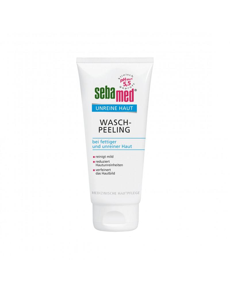 Waschpeeling bei fettiger u. unreiner Haut Пилинг для лица для жирной и проблемной кожи, 100 мл.
