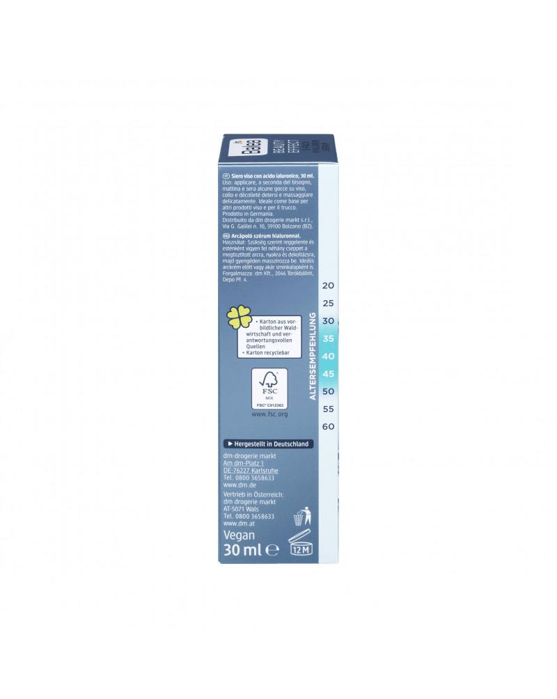 Beauty Effect 5-Fach Hyaluron Serum Сыворотка на основе 5 видов гиалуроновой кислоты и экстрактом гороха, 30 мл