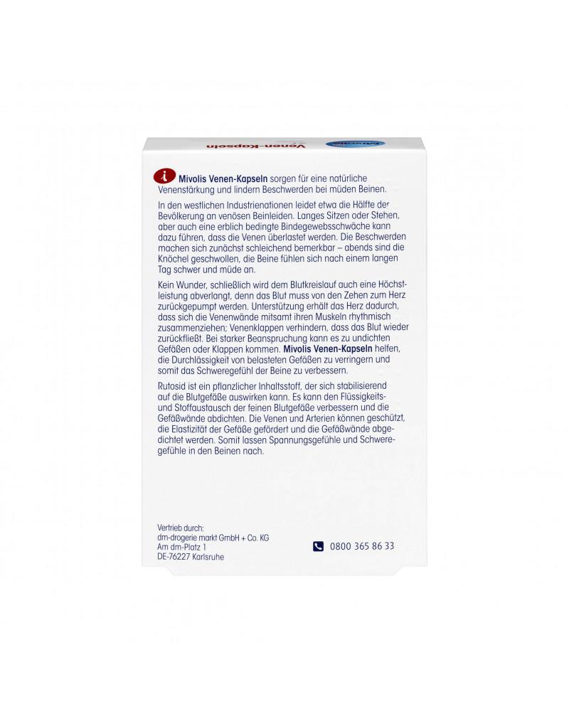 Venen-Kapseln Капсулы для укрепление вен, 60 шт
