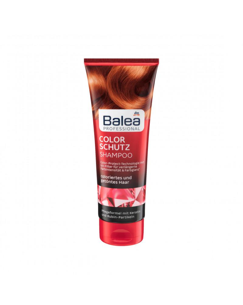 Shampoo Colorschutz Шампунь для окрашенных волос с кератином и рубиновыми частицами, 250 мл