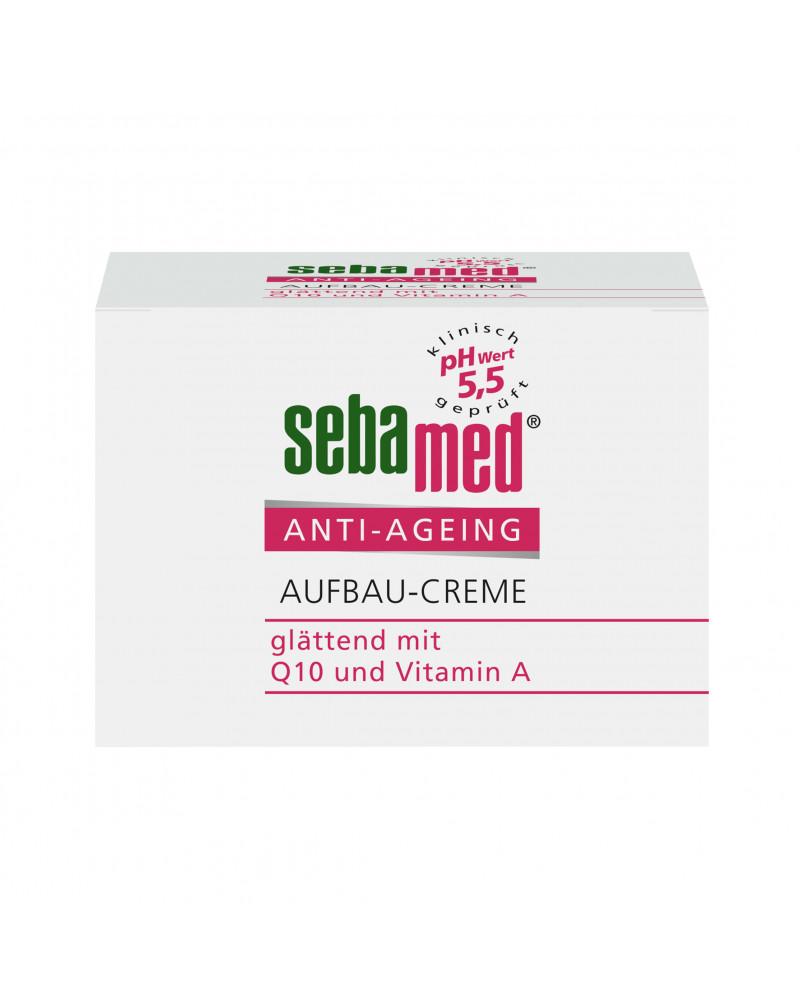 Tagespflege Anti-Ageing Aufbau-Creme Антивозрастной крем с коэнзимом Q10, гиалуроновой кислотой и витамином А, 50 мл.