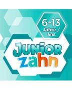 Mundspülung Kinder Juniorzahn Детский ополаскиватель для полости рта с мятным вкусом, 300 мл.