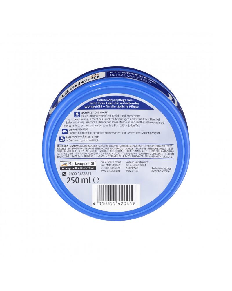 Pflegecreme Крем для лица и тела с миндальным, кокосовым маслом, маслом Ши, 250 мл